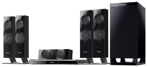 Panasonic SC-BTT590EGK 5.1 Blu-ray-Heimkinosystem (100Hz CrossOver, 3D Cinema Surround, 1000 Watt, W-LAN integriert, 2D/ 3D, 2xHDMI) schwarz