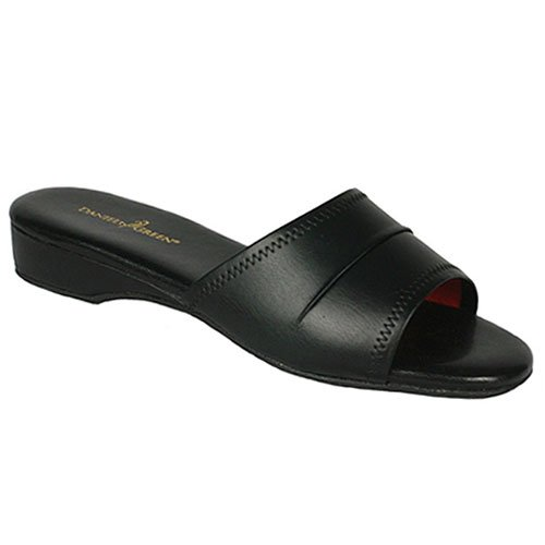 Buy low price daniel green juniors womens black open toe for Daniel green bedroom slippers