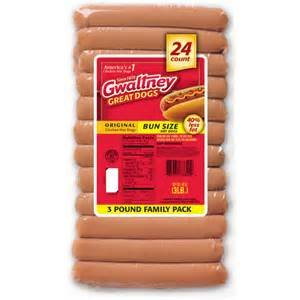 GWALTNEY GREAT DOGS HOT DOGS CHICKEN FAMILY PACK 48 OZ