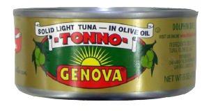Genova Tuna in Olive Oil CASE 24x142g 5oz Overview