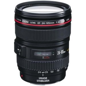 Canon EF 24-105mm f/4L IS USM Zoom Lens White Box