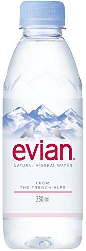 伊藤園 Evian(エビアン) ミネラルウォーター 330ml×24本 [正規輸入品]