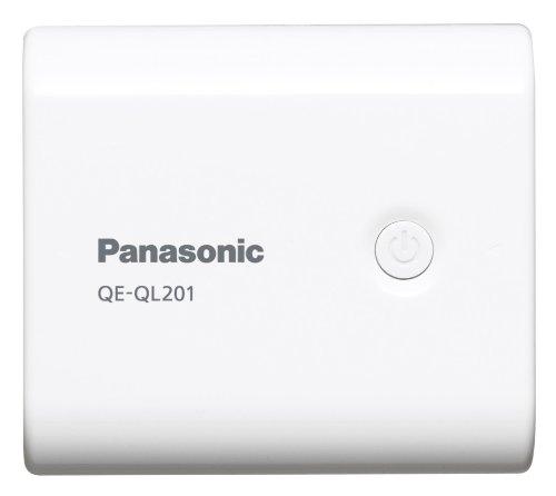 Panasonic USBモバイル電源 リチウムイオン 【フラストレーションフリーパッケージ(FFP)モデル】 5,400mAh 白 QE-QL201X-W