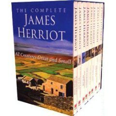 Boxed set of novels by James Herriot