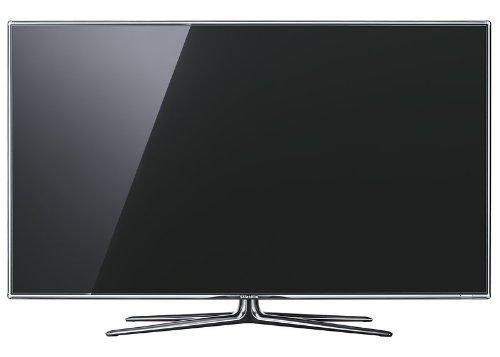 Samsung UE40D7090 101 cm (40 Zoll) 3D-LED-Fernseher, Energieeffizienzklasse B (Full-HD, 800Hz, DVB-T/C/S2 Tuner, HDMI, VGA, WLAN) titan-schwarz