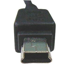 USB2-AM510 USB-MiniUSB (Bタイプ) ミニUSBケーブル 通信/充電用ケーブル フェライトコア付き 1m