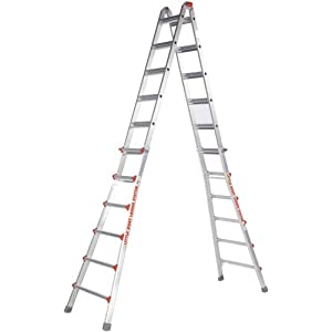 Little Giant 10126LG 300-Pound Duty Rating Ladder System, 26-Foot