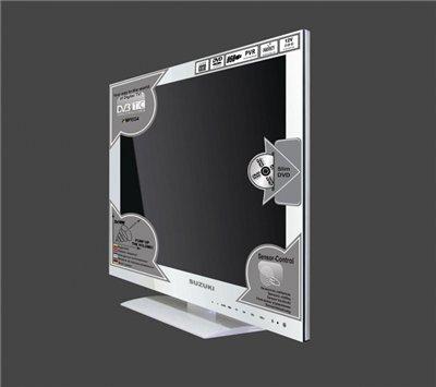24 saga lcd tv full hd fernseher sztv 246fdgw5 mit dvd. Black Bedroom Furniture Sets. Home Design Ideas