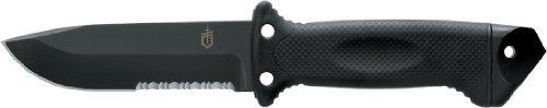 Gerber 22-01629 LMF II Black Infantry Knife with 4.8-Inch Blade