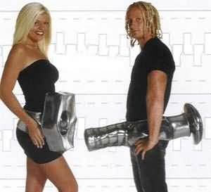 Nut and Bolt Couples Costume Sexy Set