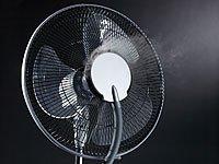 Highend-Ventilator mit Sprühnebel, Ionisator & Anti-Mücken-Funktion