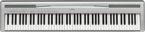 Yamaha P95S Digital Piano, Silver
