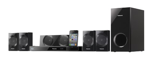 Panasonic SC-BTT290EGK 5.1 Blu-ray-Heimkinosystem (3D Cinema Surround, 1.000 Watt, W-LAN integriert, Viera Connect, 2D/ 3D, 2xHDMI,  iPod / iPhone Dock) schwarz