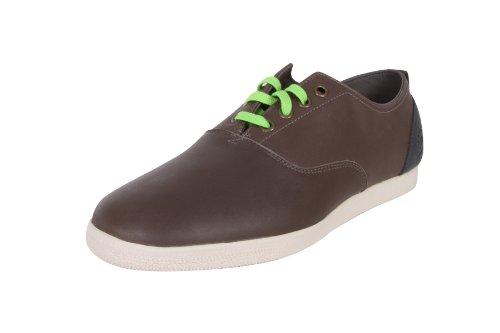 Ransom by Adidas Originals Curb Herren Schuhe Sneakers Leder Sportschuhe Freizeitschuhe Turnschuhe Männer Iron Darkshale Chalk Größe D 46 UK 11