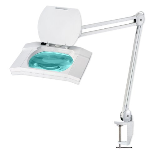 Ultra-Efficient 108 LED Magnifier Lamp - Large 7