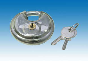 Anhänger Zubehör / Diskusschloss, 70 mm inkl. 2 Schlüssel, F-36660