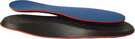 10 Seconds Flat Foot Sport Insoles - Mens 11