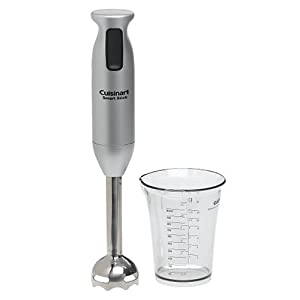 Cuisinart CSB-76BC SmartStick 200-Watt Immersion Hand Blender, Brushed Chrome