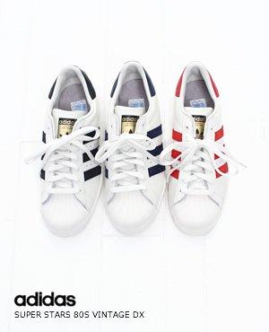 (アディダス) adidas SUPER STAR 80S VINTAGE DX スーパースター 80's 3色