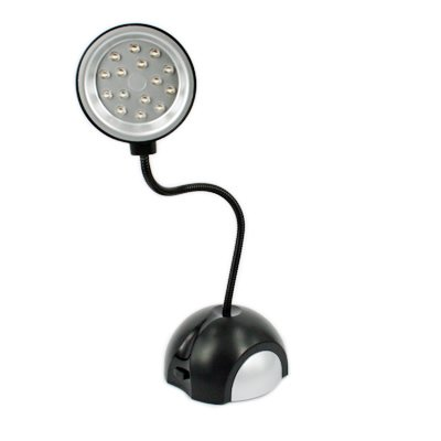 HDE Mini LED Desk Light, Black