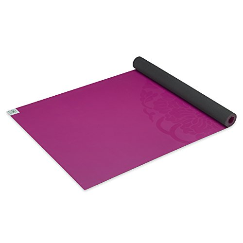 Gaiam Sol Dry Grip Yoga Mat For Hot Yoga And Heated