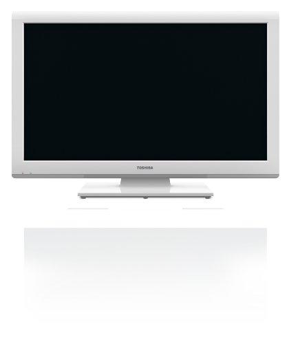 Toshiba 26DL934G 66 cm (26 Zoll) LED-Backlight-Fernseher, Energieeffizienzklasse A (HD-Ready, DVB-T/-C, CI+, DVD-Player) weiß