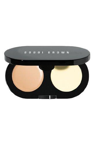 Bobbi Brown New Creamy Concealer Kit - Warm Beige Creamy Concealer + Pale Yellow Sheer Finish Pressed Powder - 3.1g/1.1oz