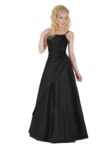 Envie/Paris - 1009 SOPHIA Abendkleid Ballkleid 1-teilig in Schwarz Gr.38-56