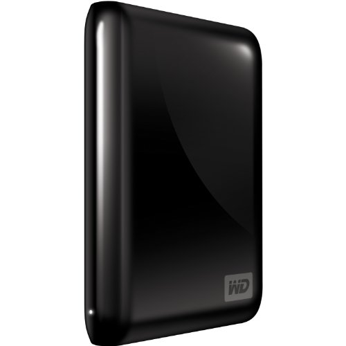 Western Digital My Passport Essential 500 GB USB 3.0/2.0 Portable External Hard Drive (Midnight Black)