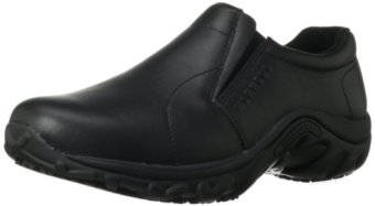 Merrell Men's Jungle Moc Pro Grip Work Shoe,Black,11.5 M US