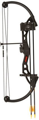 Bear Archery Brave Bow Set, Black, Right