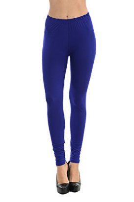 Always-Womens-Solid-Color-Full-Length-High-Waist-Leggings-One-Size-Royal