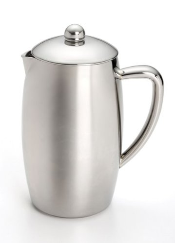 Sale Low Price Today BonJour French Press Triomphe 8-Cup Double Wall Insulated Stainless Steel Save Now