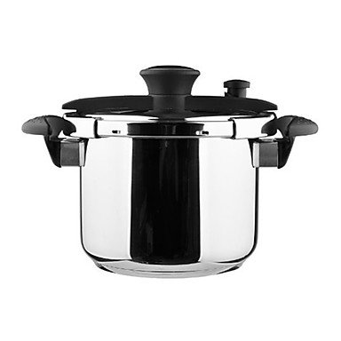 Daeden 7-9 QT 3-layers Structure Stainless Steel Pressure Cooker, W22cm x L30cm x H20cm