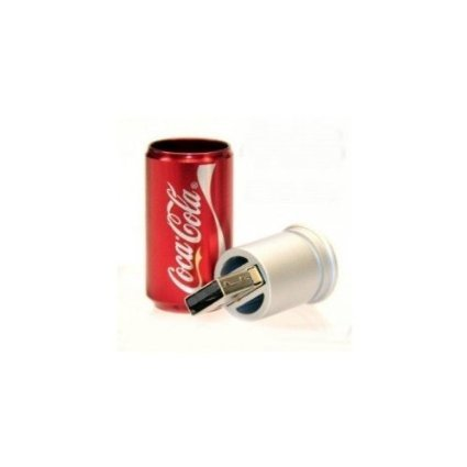 Newdigi® High Quality 8GB Coca Cola Can Shape USB Flash Memory Drive+gift box