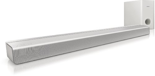 Philips CSS2113/12 SoundBar Home Cinema-Lautsprecher mit Subwoofer (20 Watt)