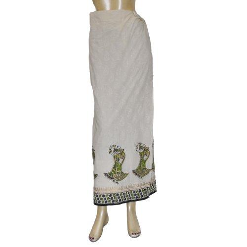 Geschenke Damenrock aus Baumwolle,modisch lang,
