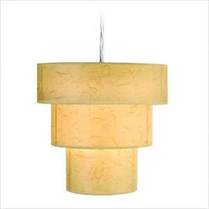 Trend Lighting TP9206 Astoria Large Pendant, Brushed Nickel