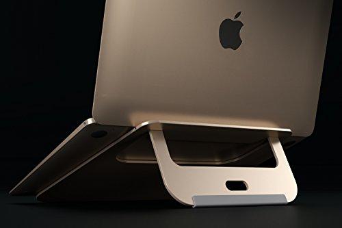 satechi aluminum portable u0026 adjustable laptop stand