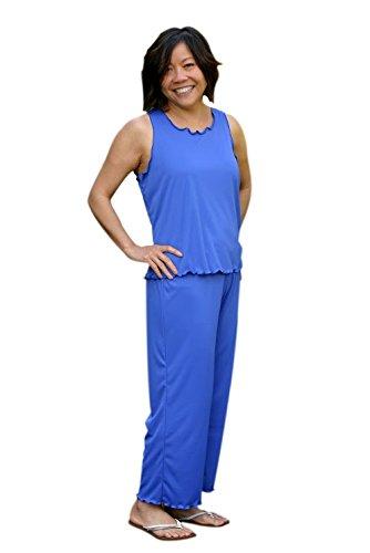 Christy Moisture Wicking Capri Pajamas