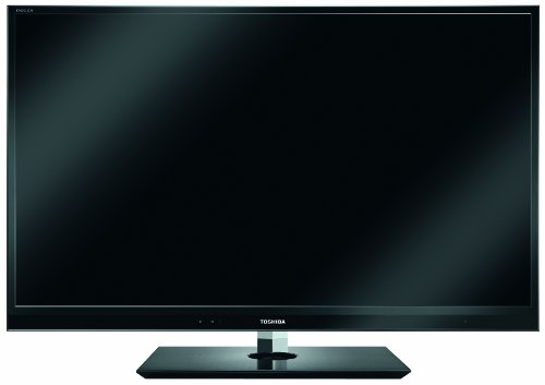 Toshiba 46WL863G 117 cm (46 Zoll) 3D LED-Backlight Fernseher, Energieeffizienzklasse B (Full-HD, 800Hz AMR, DVB-T/-C/-S/-S2, CI+) schwarz
