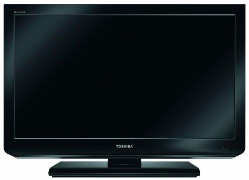 Toshiba 26EL833G 66 cm (26 Zoll) LED-Backlight-Fernseher, Energieeffizienzklasse B (HD-Ready, 100 HZ AMR, DVB-T/-C, CI+) schwarz