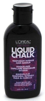loreal liquid chalk hair makeup very violet 1 6oz 2 pack beauty t outlet