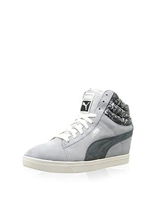 PUMA Women's PC Wedge NC Sneaker (Quarry)