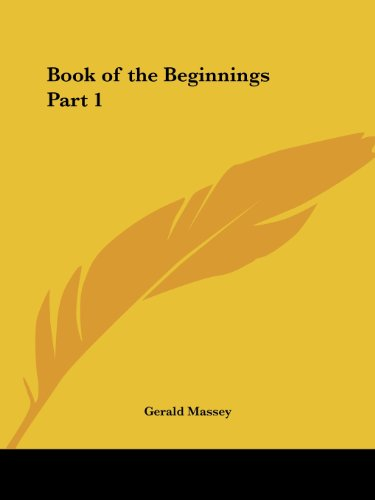 Book of the Beginnings Part 1