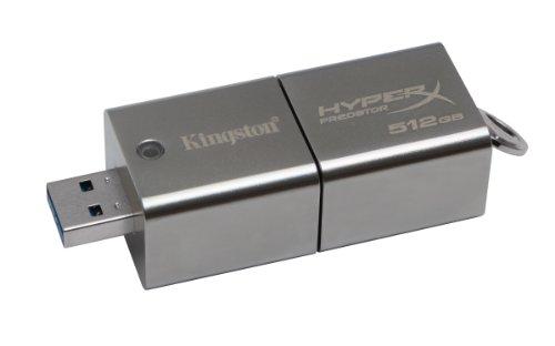 【512GB】 Kingston/キングストン DataTraveler HyperX Predator USB 3.0 (R:240MB/s W:160MB/s) DTHXP30/512GB