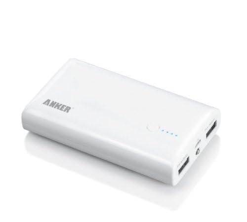 ANKER Astro M2 7800mAh モバイルバッテリー 2USBポート同時充電 iPhone5S 5C 5 4S / iPad Mini Retina / iPod / Xepria / Galaxy / Android / 各種スマホ / Wi-Fiルータ等対応大容量かつコンパクト105 x 60 x 23mm (日本語説明書付き) Astro M2