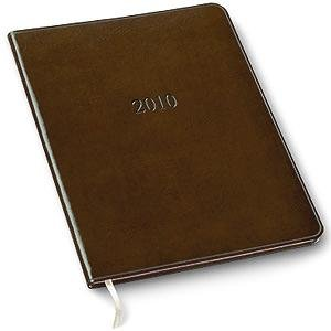 Gallery Leather 2010 Large Planner coach-Tan Leather