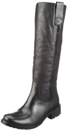 Buffalo London 1000 SD-03 COW MONTONE 121137, Damen Stiefel, Schwarz (BLACK 01), EU 39