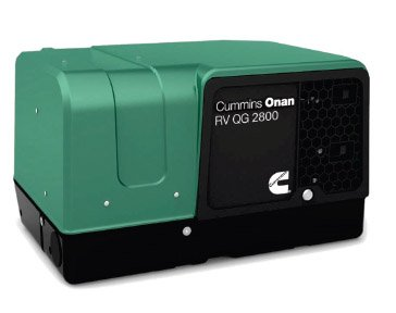 Amazon.com : Cummins Onan RV QG 2500 Watt LP Generator 2500w Propane Generator compliments our Solar/Lithium setup as a back-up power source. (Installed Summer 2015)
